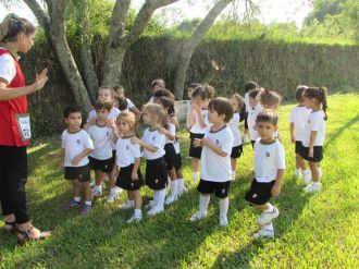 El Jardín comenzó Educación Física 75