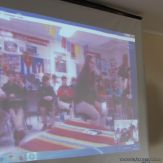 Skype con el North Cross School 7