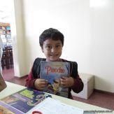 Padres y alumnos visitan la Biblioteca 6