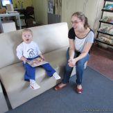 Padres y alumnos visitan la Biblioteca 8