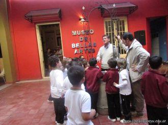 1er grado visito el Museo de Bellas Artes 45