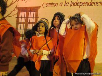 Acto por el Día de la Independencia del Jardin 116