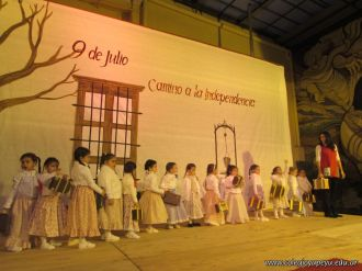 Acto por el Día de la Independencia del Jardin 59