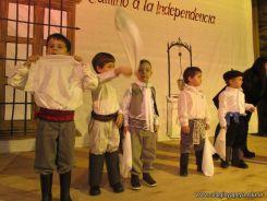 Acto por el Día de la Independencia del Jardin 88
