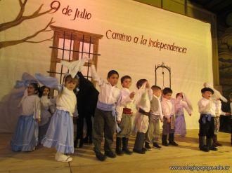 Acto por el Día de la Independencia del Jardin 92