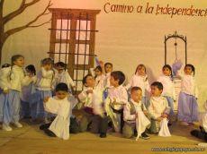 Acto por el Día de la Independencia del Jardin 95