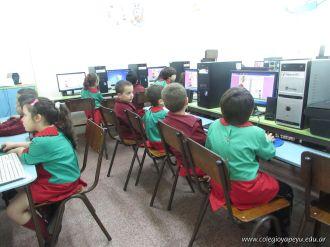 Salas de 5 en horas de Computacion 1