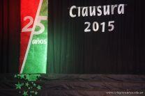 Acto de Clausura de la Secundaria 2015 1