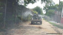 Fumigacion del Campo Deportivo 4