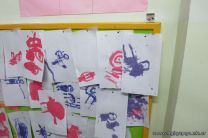 Pintando con Temperas 8
