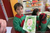 Pintando a Frida Kahlo en Salas de 5 57