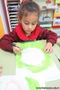 Pintando a Frida Kahlo en Salas de 5 69