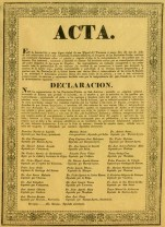 Acta de Declaracion de la Independencia