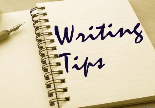 Writing tips 1