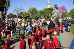 Desfile y Festejo de Cumpleaños 242