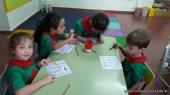 Contando dinosaurios en salas de 5 años 12