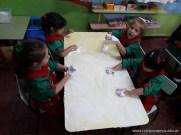 Espuma en salas de 4 años 9