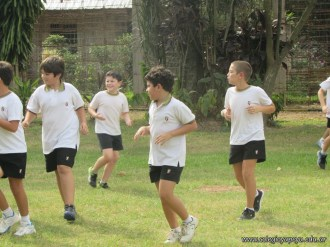 Educación física de 4to grado 1