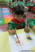 Pintando con pinceles 15
