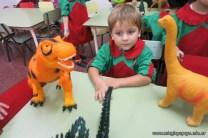 Visita de dinosaurios 7