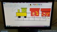 Dibujando trenes 23