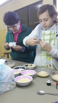 Torta de colores 6