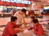 Visita a McDonald's 9