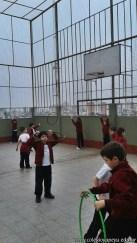 Actividades de coordinación en Ed. Física 11