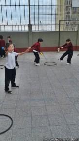 Actividades de coordinación en Ed. Física 21