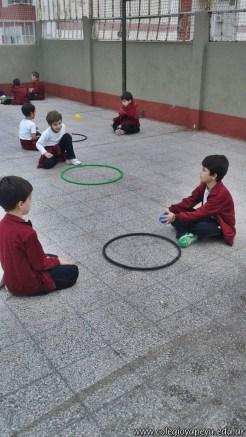 Actividades de coordinación en Ed. Física 6