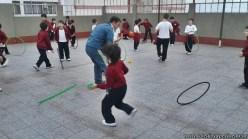 Actividades de coordinación en Ed. Física 7