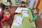 Dibujamos con plasticolas de colores 18