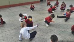 Educación física en Jardín 12
