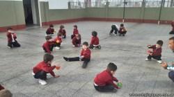 Educación física en Jardín 13
