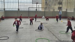Educación física en Jardín 19