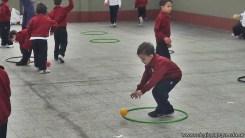 Educación física en Jardín 22