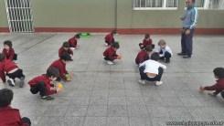 Educación física en Jardín 9