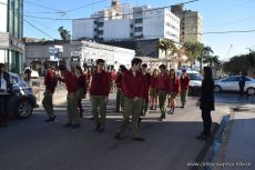 Festejo de Cumpleaños y Desfile en Homenaje a San Martin 103