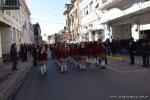 Festejo de Cumpleaños y Desfile en Homenaje a San Martin 124