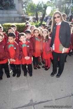 Festejo de Cumpleaños y Desfile en Homenaje a San Martin 134