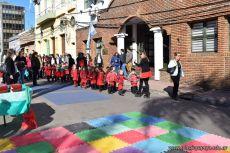 Festejo de Cumpleaños y Desfile en Homenaje a San Martin 212