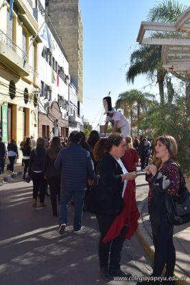 Festejo de Cumpleaños y Desfile en Homenaje a San Martin 218