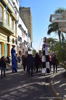 Festejo de Cumpleaños y Desfile en Homenaje a San Martin 219