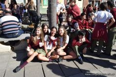 Festejo de Cumpleaños y Desfile en Homenaje a San Martin 256