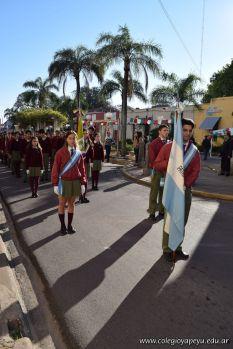 Festejo de Cumpleaños y Desfile en Homenaje a San Martin 69