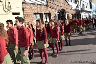 Festejo de Cumpleaños y Desfile en Homenaje a San Martin 90