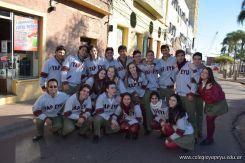 Festejo de Cumpleaños y Desfile en Homenaje a San Martin 97