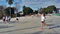 Hermosa tarde a puro deporte en el campo deportivo 15