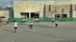 Hermosa tarde a puro deporte en el campo deportivo 8