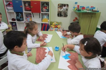 Pintando el cruce de los Andes 5